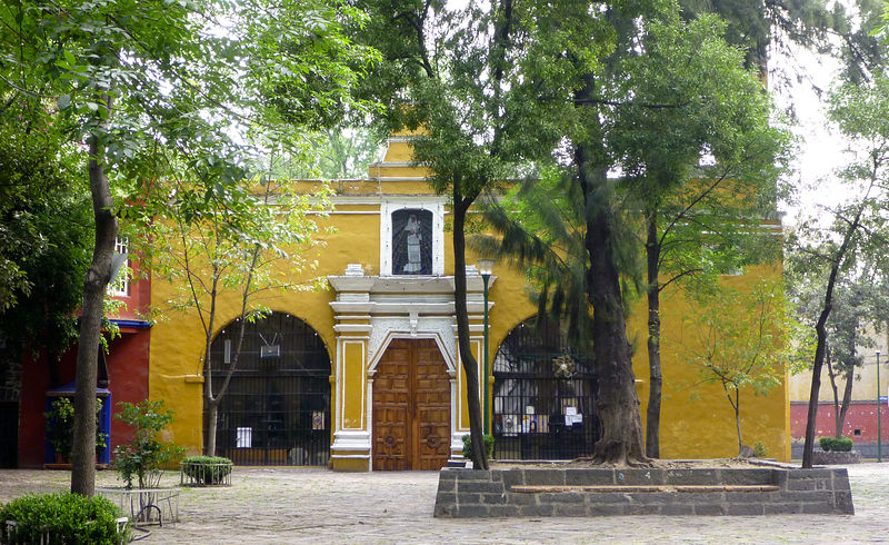 Mexico City - Coyoacan - Plaza Santa Catarina